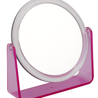919 pink 330x330 - 5x Magnification Mirror with Pink Base - 919PINK