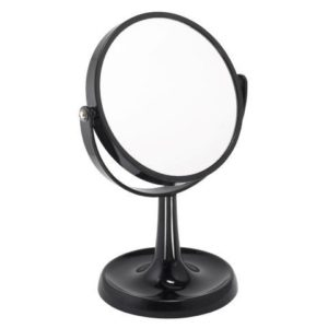 Black 3x Magnification Perspex Mirror - 924BLK