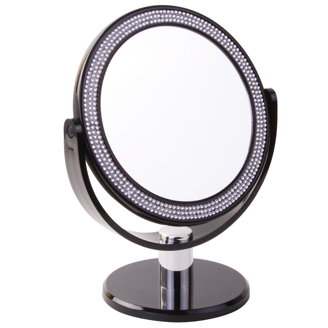 931 16 blk - Black Crystal 5x Mirror - 931/16