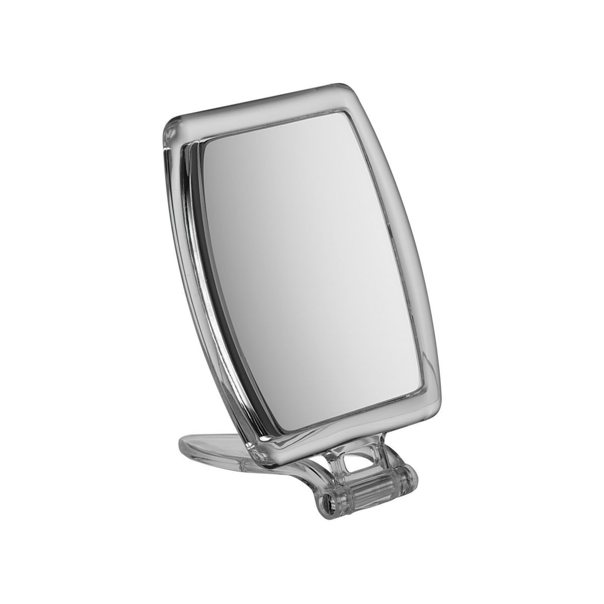 A004 10 1 - Magnificationgie' Small Perspex Handbag Super Strong 10x Magnification Mirror - A004/10