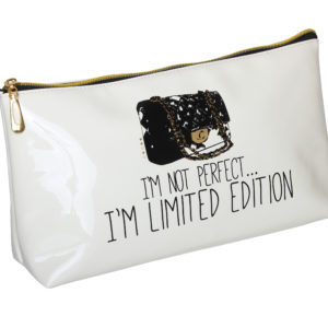 B2068 300x300 - 'I'M Not Perfect' Cosmetic/Toiletry Bags - B2068