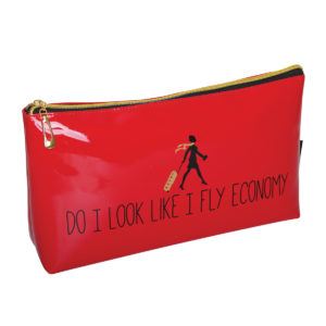 B2076 300x300 - 'Do I Look Like I Fly Economy' Cosmetic/Toiletry Bags - B2076