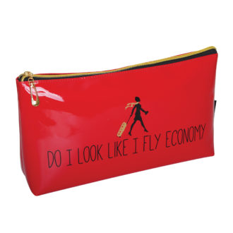 B2076 330x330 - 'Do I Look Like I Fly Economy' Cosmetic/Toiletry Bags - B2076