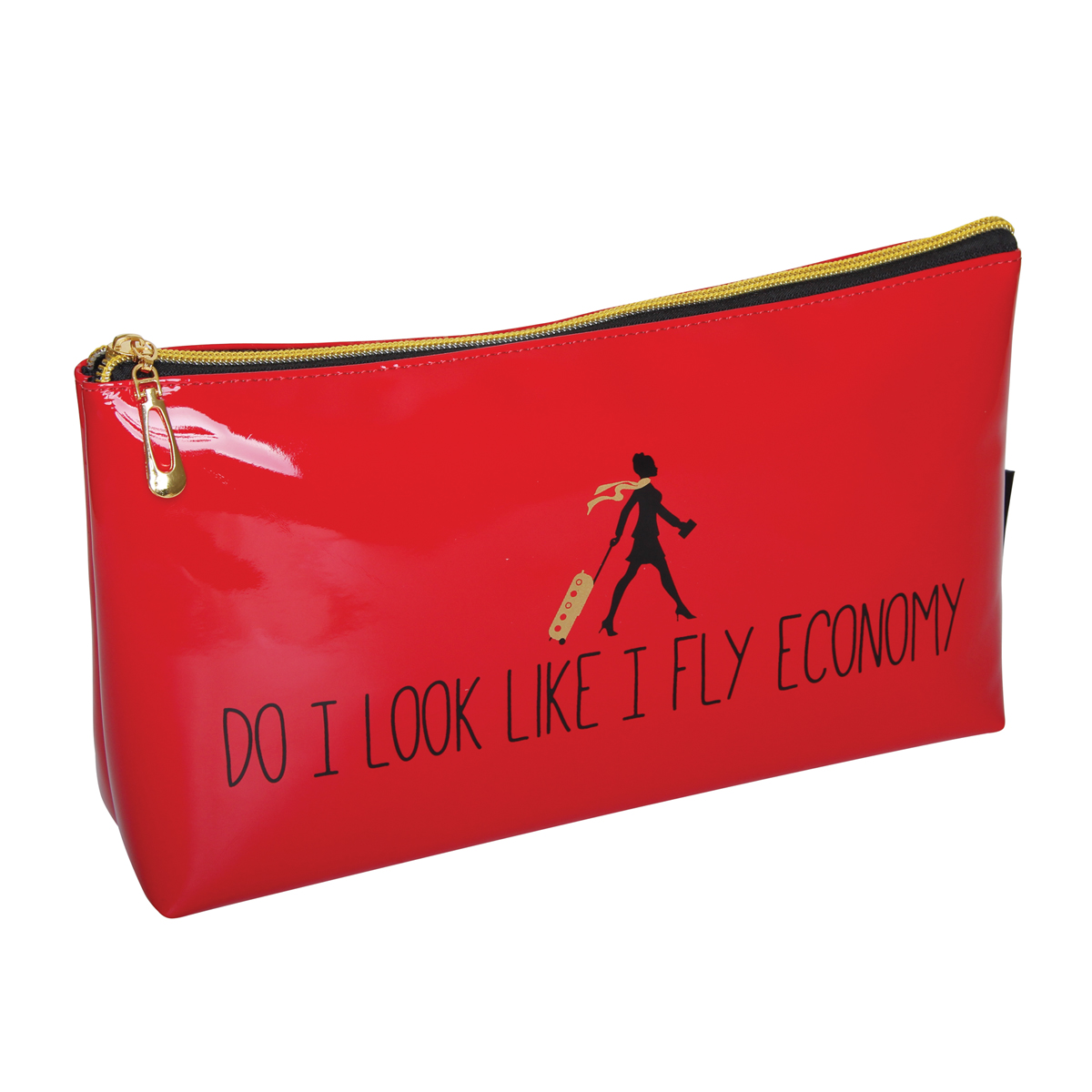B2076 - 'Do I Look Like I Fly Economy' Cosmetic/Toiletry Bags - B2076