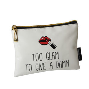 B2079 300x300 - Too Glam To Give A Damn' Makeup Bag - B2079