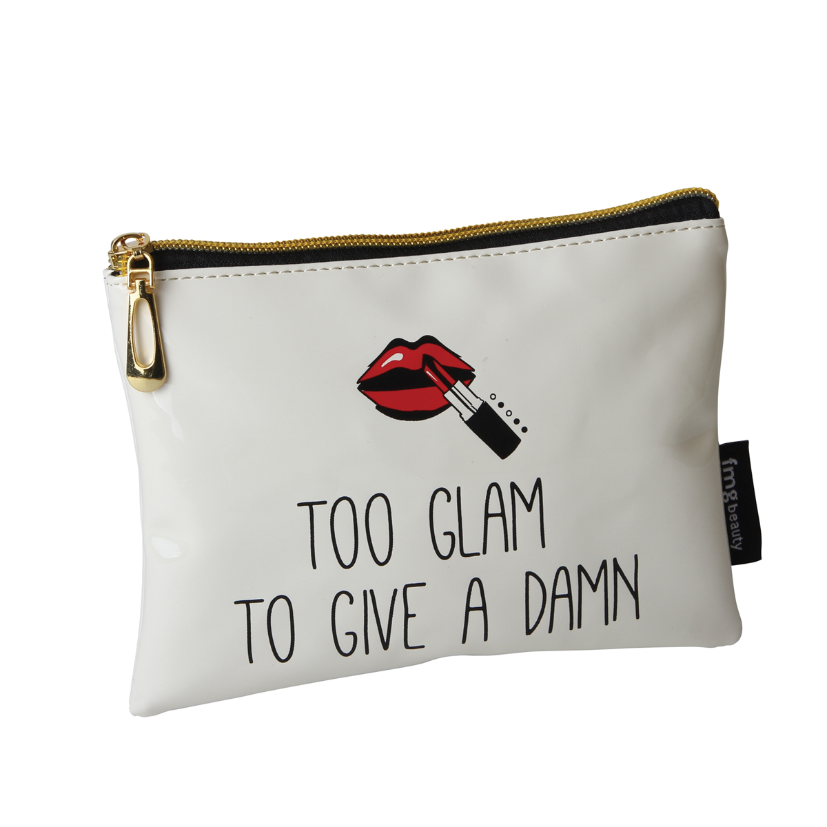 B2079 - Too Glam To Give A Damn' Makeup Bag - B2079