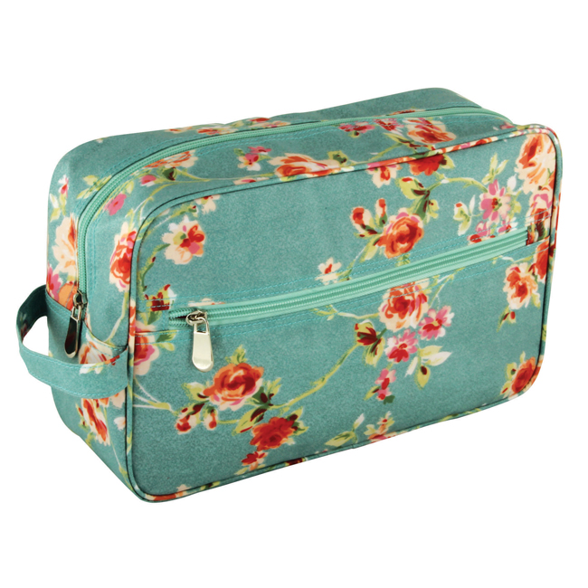 B2103 - Cottage Blue Large Weekend Case - B2103