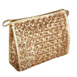 B2402 300x300 - Gold Shimmer & Shine Collection Cosmetic/Toiletry Bags - B2402