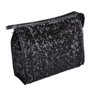 B2403 300x300 - Black Shimmer & Shine Collection Cosmetic/Toiletry Bags - B2403