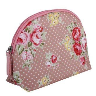 Rose, Round Beauty Bag - B302