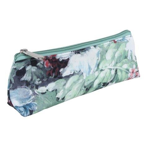 B329 1 - Green Meadow - brush & make up case - B329