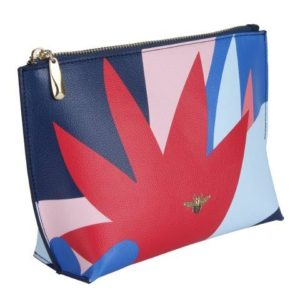 Abstract Floral Beauty Bag - B8309