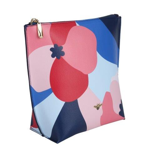 Abstract Floral Beauty Bag - B8310