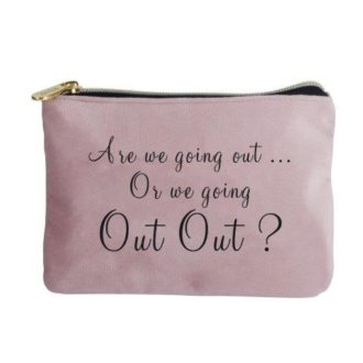 Velvet Perfect Pouch, Going Out Out - B8337