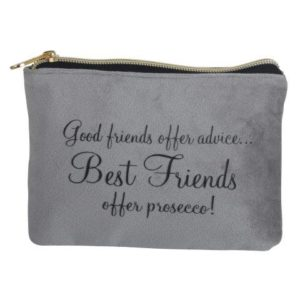 Velvet Perfect Pouch, Best Friends - B8339