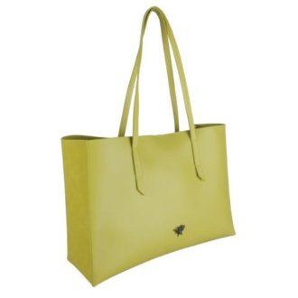 B8383 1 330x330 - Lime Tote bag with purse and Bee - B8383