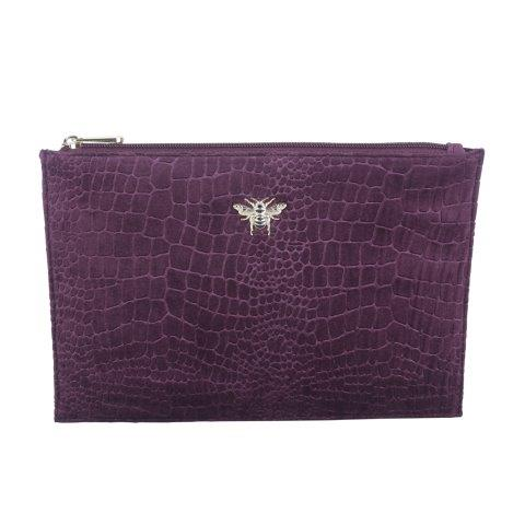 B8387 1 - Fig - velvet perfect pouch - B8387