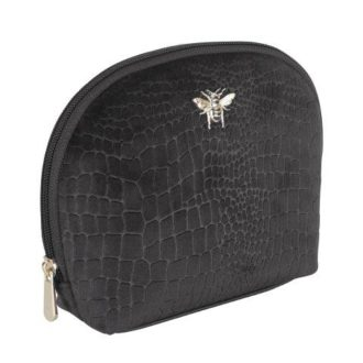 B8393 1 330x330 - Black - Velvet beauty case - small - B8393