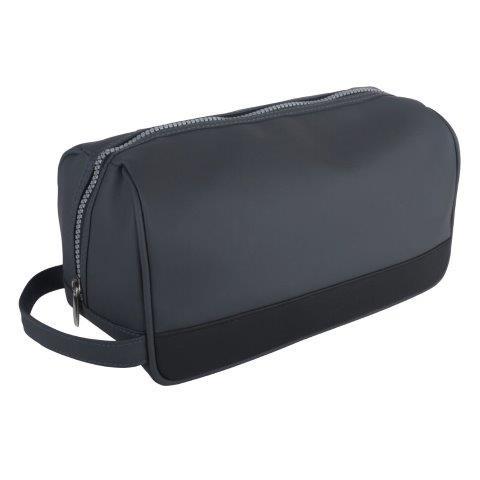 Fmg Mens Grey Wash Bag - B9241