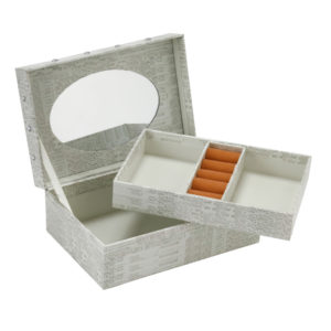 JB 107 open 300x300 - Jewellery Box 'Elegance' - JB107