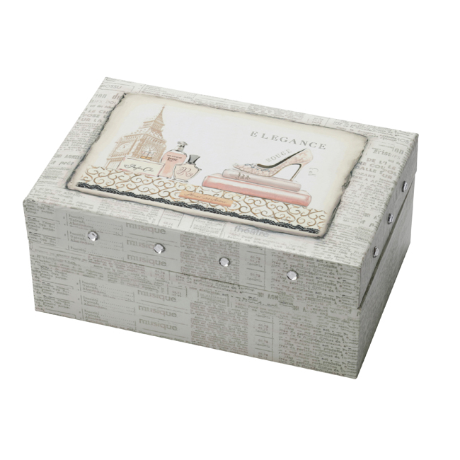 JB 107 - Jewellery Box 'Elegance' - JB107