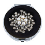 MC 252 150x150 - Crystal Mirror Compact 'Shoe' - MC243
