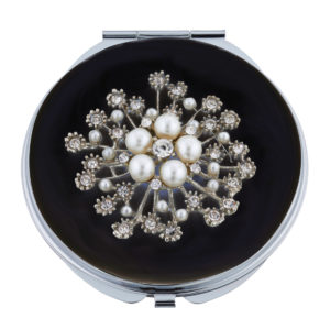 MC 252 300x300 - Crystals and Pearls Mirror Compact - MC252