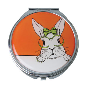 Cutie' Rabbit Mirror Compact - MC312