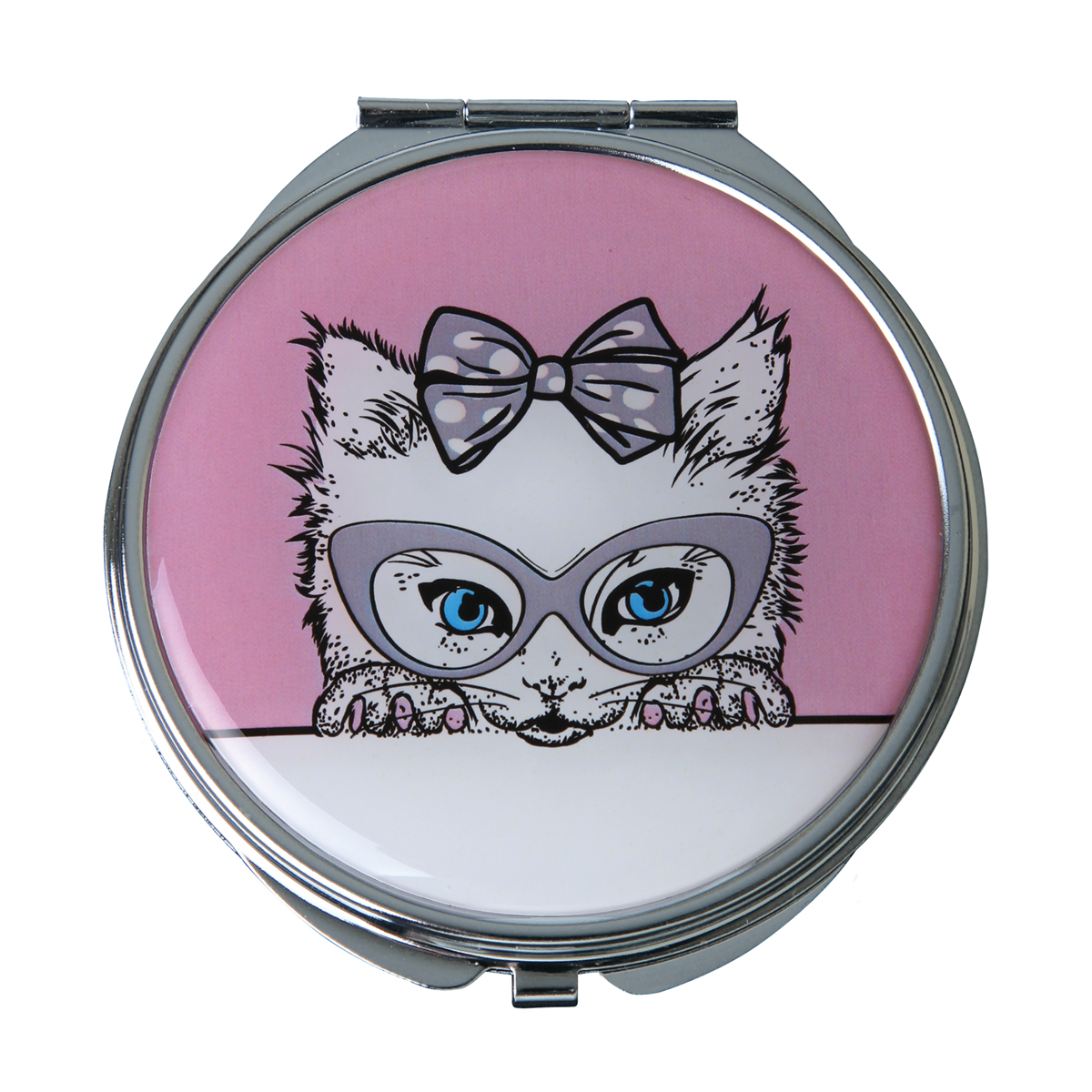 Cutie' Cat Mirror Compact - MC313