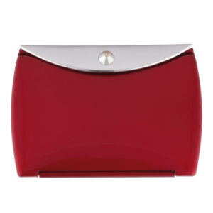 Ruby Mirror Compact Envelope 3x Mag with Swarovski Crystal Elements