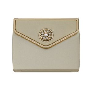 MC 336 gld 300x300 - Tri Fold Envelope 5x Mirror Compact with Swarovski Crystal Elements - MC336GOLD
