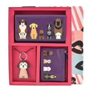 ML009 1 300x300 - 3 Piece Leather Boxed Dog Gift Set - ML009
