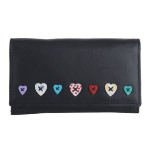 Black Flap Over Purse - ML318630BLK