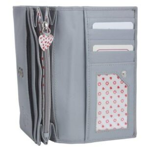 Grey Flap Over Purse - ML318630GREY